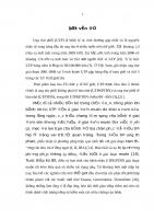 ĐÁNH GIÁ HIỆU QUẢ PHÁC đồ PACLITAXEL + CARBOPLATIN TRONG điều TRỊ UNG THƯ PHỔI KHÔNG PHẢI tế bào NHỎ GIAI đoạn IIIB IV tại BỆNH VIỆN UNG bướu hà nội (2006   2009)