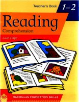 Primary foundation skills   reading teacher book