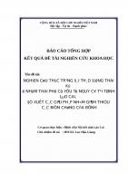 NGHIÊN cứu THỰC TRẠNG đái THÁO ĐƯỜNG THAI kỳ ở NHÓM THAI PHỤ có yếu tố NGUY cơ tại TỈNH lào CAI, đề XUẤT các GIẢI PHÁP NHẰM GIẢM THIỂU các BIẾN CHỨNG của BỆNH