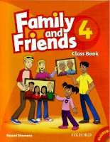 Family and friends 4 class book
