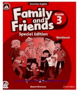 family and friends grade 3 special edition workbook