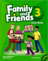 Family and friends 3 class book full