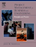 Nicholas project mgt 4 business and engineering
