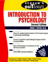 Wittigs introduction to psychology 2nd edition