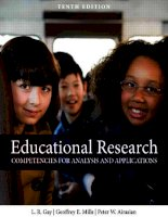 Educational research – competencies for analysis and applications (10th edition)