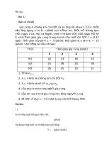 Bài tập fms về máy và số máy