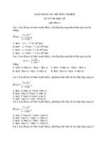 câu hỏi xử lý tín hiệu số chương 4