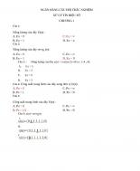 câu hỏi xử lý tín hiệu số chương 1