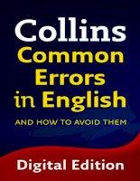 Collins Common Errors