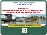 Báo cáo cảng bến Kiên Giang
