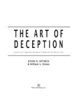 Hacking ebook art of deception controlling the human element of security