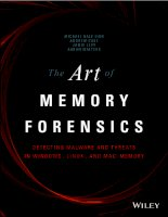 Hacking ebook art of memory forensics detecting malware and threats in windows linux and mac memory