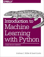 Hacking ebook introduction to machine learning with python