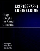 Hacking ebook cryptography engineering design principles and practical applications