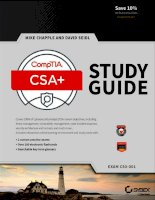Hacking ebook CompTIA cybersecurity analyst (CSA+) study guide exam CS0 001