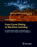 IT training from curve fitting to machine learning zielesny 2011