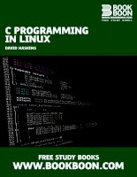 IT training c programming in linux haskins 2009
