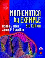 IT training mathematica by example (3rd ed ) abell  braselton 2003 12 24