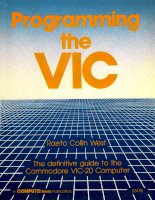 IT training programming the VIC  the definitive guide to the commodore VIC 20 computer west 1987 01 01