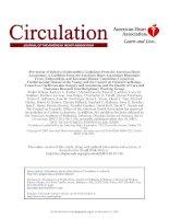 AHA endocarditis prevention 2007 khotailieu y hoc