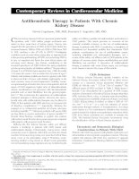 AHA antithrombotics in CKD 2012 khotailieu y hoc