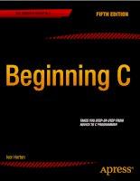 IT training beginning c (5th ed ) horton 2013 02 26