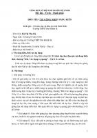 """SKKN tổ chức dạy học theo góc nội dung kiến thức chương """"mắt  các dụng cụ quang"""" – vật lí 11 cơ bản"""