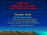 Bai giang DSLG chuong 1  2