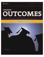Outcomes advanced student book kho tài liệu học tiếng anh