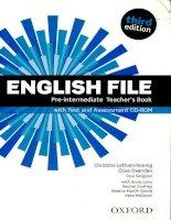 English file 3rd   pre inter TB kho tài liệu học tiếng anh