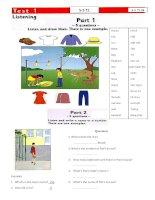 STARTERS AND BASIC 5 8 kho tài liệu học tiếng anh