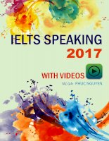 IELTS SPEAKING 2017 ( IELTS NTP) kho tài liệu học tiếng anh
