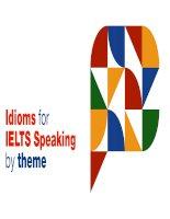 Idioms for IELTS speaking kho tài liệu học tiếng anh