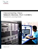 CCNA (ICND1) foundation learning guide, 4th edition kho tài liệu training