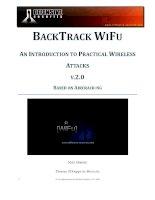 Offensive security   wireless attacks ( wifu) v2 0 kho tài liệu training