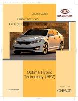 TÀI LIỆU đào tạo   công nghệ hybrid trên xe KIA optima 2011 unprotected