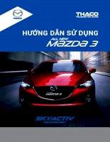 Sơ đồ mạch điện Mazda 3