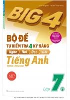 Big 4 Bộ đề tự kiểm tra 4 kỹ năng Tiếng anh lớp 7  Tập 2  WORD