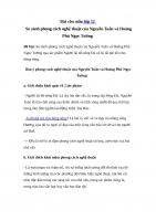 So sánh phong cách nghệ thuật của Nguyễn Tuân và Hoàng Phủ Ngọc Tường