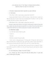Bài tập Xử phạt vi phạm hành chính trong lĩnh vực Quản lý đất đai