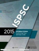 INTERNATIONAL Swimming Pool and Spa Code 2015 ISPSC 2015