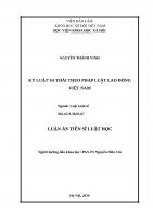 Kỷ luật sa thải theo pháp luật lao động việt nam
