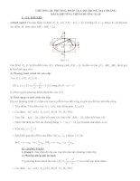 Hình học lớp 10 chương 3  Phương trình đường elip