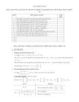 Đại số lớp 10 chương 3   PHƯƠNG TRÌNH VÀ HỆ BẤT PHƯƠNG TRÌNH NHIỀU ẨN
