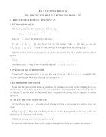 BẤT PHƯƠNG TRÌNH VÀ PHƯƠNG TRÌNH BẬC NHẤT 1 ẨN ĐẠI SỐ 10 CÓ ĐÁP ÁN