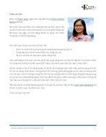 30 topics IELTS speaking part 1 và câu trả lời tham khảo