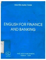 English for finance and banking