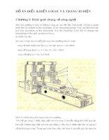 Đồ án: Điều khiển logic và trang bị điện
