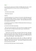 Bài tập làm văn số 3 lớp 12