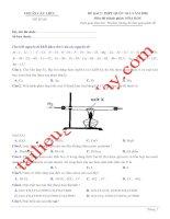 Đề thi thử THPT QG 2020   hóa học   gv lê phạm thành   đề 08   có lời giải